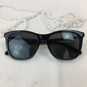 SALVATORE FERRAGAMO WAFER W CRYSTAL SUNGLASSES